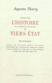 Essai sur l'histoire du tiers etat. l'ancienne france municipale. constitution d'amiens - Couverture - Format classique
