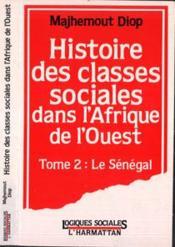 Histoire Des Classes T.2sociales Dans L'Afrique - Couverture - Format classique
