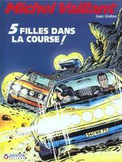 Michel Vaillant t.19 ; 5 filles dans la course - Intérieur - Format classique