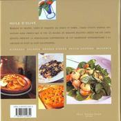 Huile d olive - 4ème de couverture - Format classique