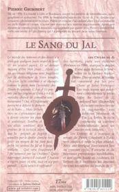Sang Du Jal (Le) - Enfants De Ji T5 - 4ème de couverture - Format classique
