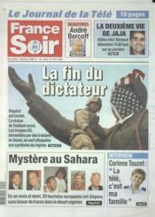 France Soir N°567 du 10/04/2003 - Couverture - Format classique