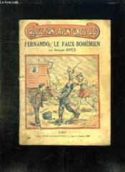 Fernando Le Faux Bohemien. - Couverture - Format classique