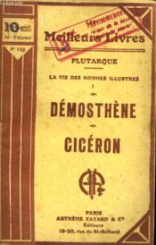 La Vie Des Hommes Illustre. Tome 1. Demosthene Suivi De Ciceron. Collection : Les Meilleurs Livres N° 158. - Couverture - Format classique