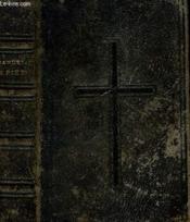 MANUEL DE PIETE A L'USAGE DE LA JEUNESSE PAR F.I.C. Approuve par Mgr l'archevêque de Tours. - Couverture - Format classique