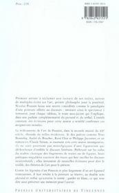 Poussin pour mémoire ; Bonnefoy, du Bouchet, Char, Jaccottet, Simon - 4ème de couverture - Format classique