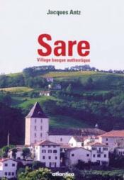 Sare, village basque authentique - Couverture - Format classique