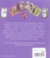 Anges Gardiens Messages Angeliques - 4ème de couverture - Format classique