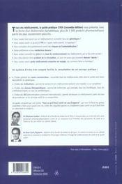 Tous Vos Médicaments. Le Guide Pratique 2006 - 4ème de couverture - Format classique