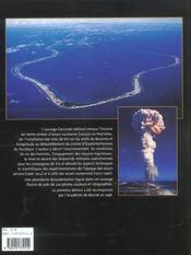 Atolls de l'atome - 4ème de couverture - Format classique