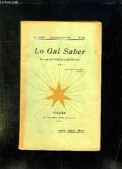 Lo Gai Saber N° 236 Julhet Decembre 1950. - Couverture - Format classique