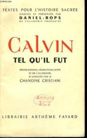 Calvin Tel Qu'Il Fut. - Couverture - Format classique