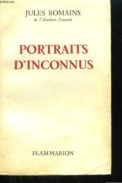 Portraits D'Inconnus. - Couverture - Format classique