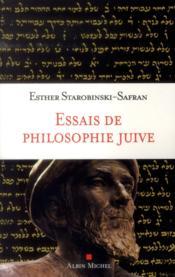 Essais de philosophie juive - Couverture - Format classique
