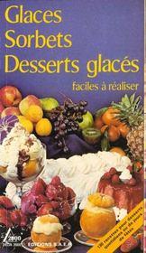 Sorbets desserts glaces - Intérieur - Format classique