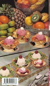 Sorbets desserts glaces - 4ème de couverture - Format classique