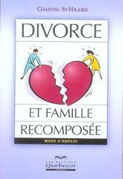 Divorce Et Famille Recomposee - Intérieur - Format classique
