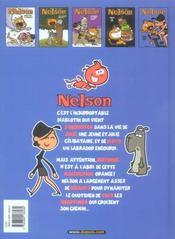 Nelson T.5 ; Super Casse-Pieds - 4ème de couverture - Format classique