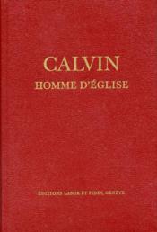 Calvin, Homme D'Eglise - Couverture - Format classique