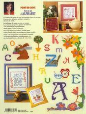 Point De Croix - Sur Un Air D'Alphabet - 4ème de couverture - Format classique