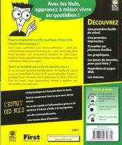 Excel 2000 Pour Les Nuls - 4ème de couverture - Format classique
