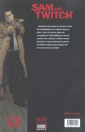 Sam Et Twitch T.6 ; L'Affaire John Doe T.2 - 4ème de couverture - Format classique