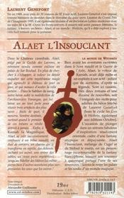 Alaet l'insouciant. - 4ème de couverture - Format classique
