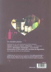 Plaisirs du vin - 4ème de couverture - Format classique