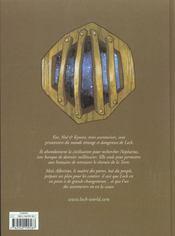 Lock T.1 ; Nepharius - 4ème de couverture - Format classique