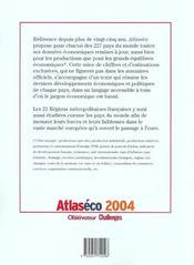 Atlaseco 2004 - 4ème de couverture - Format classique