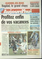 Aujourd'Hui En France N°569 du 12/04/2003 - Couverture - Format classique