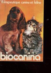Brochure - Therapeutique Canine Et Feline - Couverture - Format classique