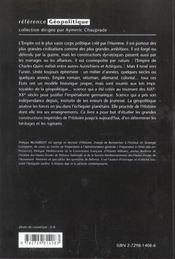 Les Grands Empires Histoire Et Geopolitique - 4ème de couverture - Format classique