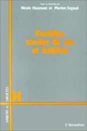 Familles, mode de vie et habitat - Couverture - Format classique