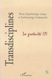 Gratuite (La) (1) - Couverture - Format classique