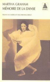 Mémoire de la danse - Intérieur - Format classique