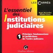 L'Essentiel De L'Organisation Judiciaire. - Intérieur - Format classique