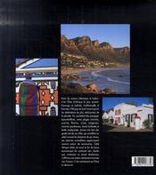 Afrique du sud - 4ème de couverture - Format classique