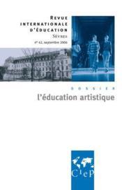 L'éducation artistique - Couverture - Format classique
