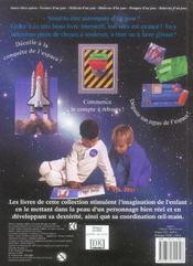 Astronaute D'Un Jour - 4ème de couverture - Format classique