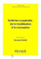 Systemes coopératifs ; de la modélisation a la - Couverture - Format classique