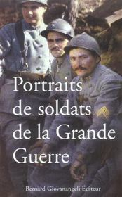 Portraits de soldats de la grande guerre - Intérieur - Format classique