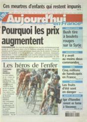Aujourd'Hui En France N°570 du 14/04/2003 - Couverture - Format classique
