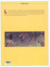 Les eaux de Mortelune t.9 ; de profundis - 4ème de couverture - Format classique