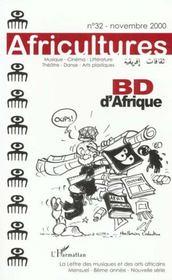 Revue Africultures T.32 ; Bd D'Afrique - Intérieur - Format classique