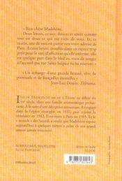 Écrivez-moi, Madeleine - 4ème de couverture - Format classique