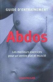 Guide d'entraînement ; abdos - Intérieur - Format classique