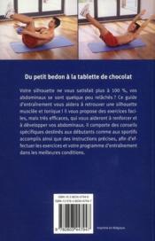 Guide d'entraînement ; abdos - 4ème de couverture - Format classique