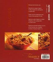 Plats uniques - 4ème de couverture - Format classique