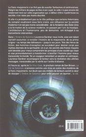 L'Ombre De Salomon - 4ème de couverture - Format classique